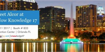 Join Alcor At ServiceNow Knowledge17