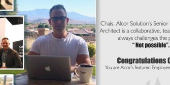 Congratulations! Chais Features In Alcor's Employee Success Story