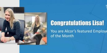 Lisa Features In Alcor's Employee Success Feature | Congratulations