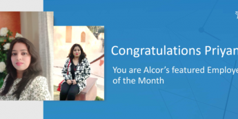 Priyanka is Alcor's Employee Of The Month | Congratulations!
