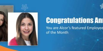 Anna is Alcor's Employee Of The Month | Congratulations!
