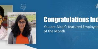 Indira is Alcor's Employee Of The Month | Congratulations!