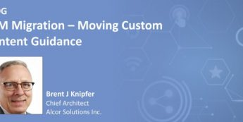 ESM Migration – Moving Custom Content Guidance
