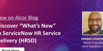 """Discover """"What's New"""" in ServiceNow HR Service Delivery (HRSD)"""
