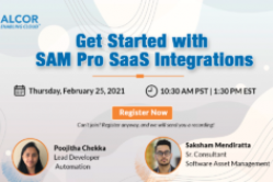 Get Started with SAM Pro SaaS Integrations