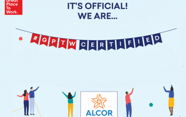 SAN FRANCISCO, July 15, 2021 /PRNewswire/ Alcor Is Now A Great Place To Work® – Certified Company
