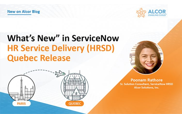 What's New In HR Service Delivery Quebec Release?